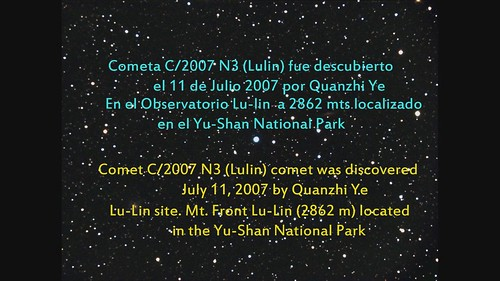Historia del Cometa Lulin
