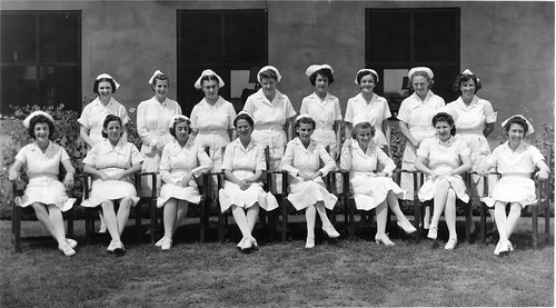 Nurses in Africa during World War II | by gbaku