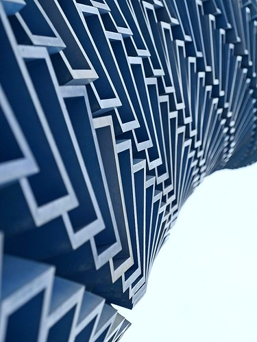 Abstract (Blue sculpture) | by tanakawho