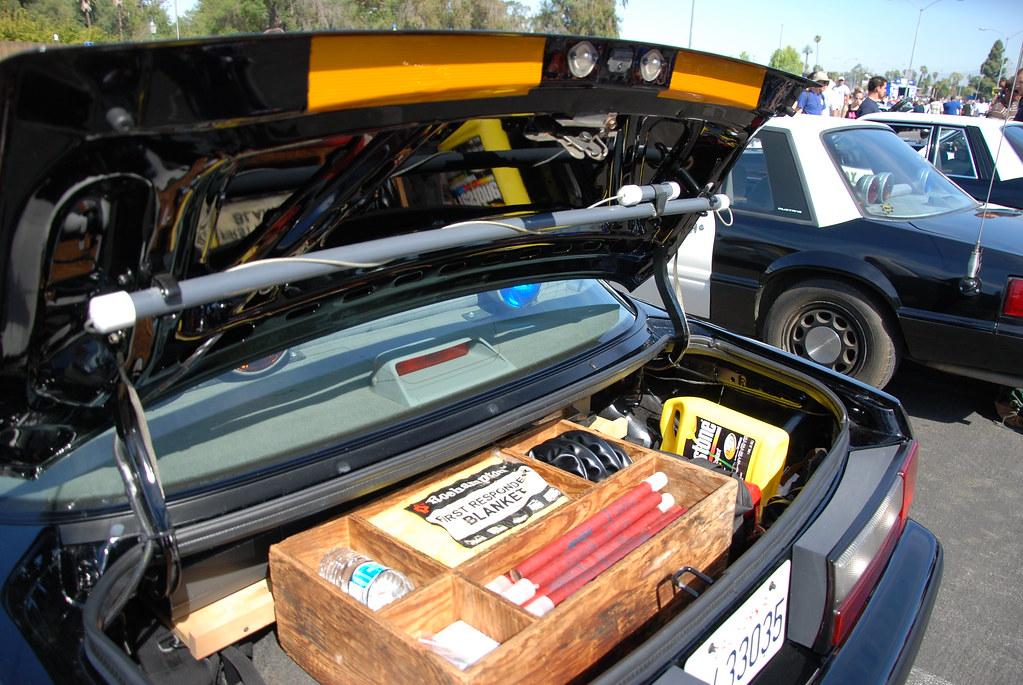 California Highway Patrol Chp Ford Mustang Ssp Trunk S Flickr