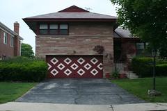Midcentury garage door | by repowers