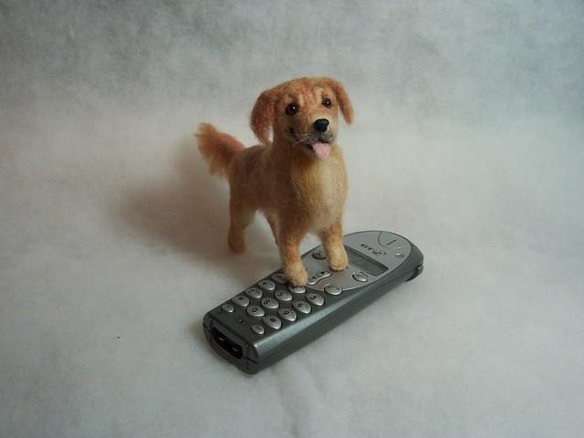 Needle Felted Labrador Retriever   Paddington was a lovely l…   Flickr