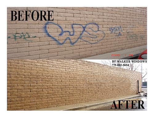 Pressure Washing Graffiti | by jwmadmax