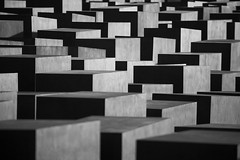 Holocaust memorial, Berlin | by London From The Rooftops