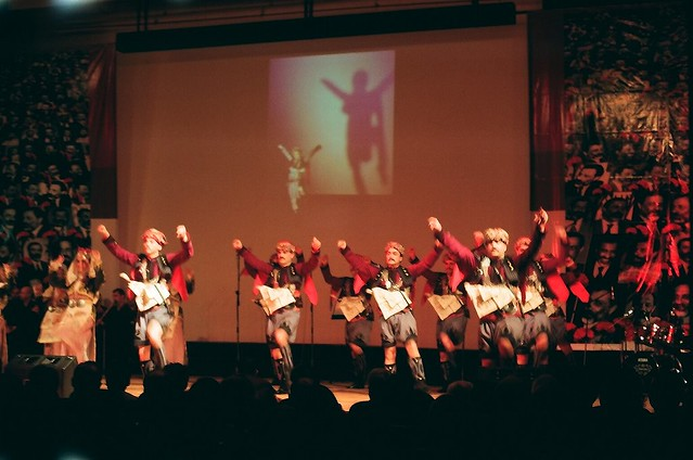 Folk Dancing...
