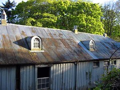 Corrugated iron roof | by Guy R
