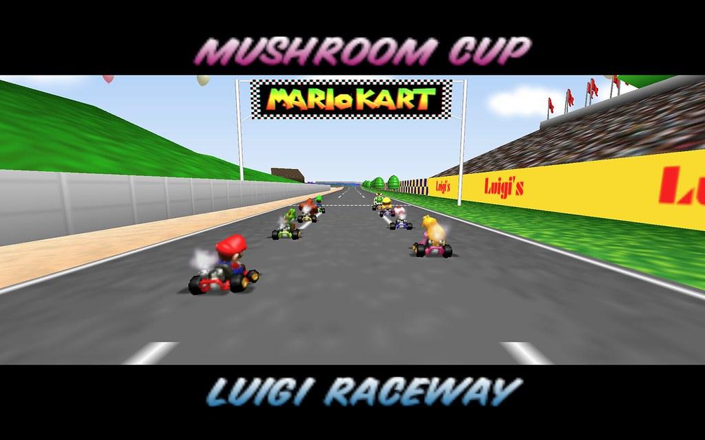 Mario Kart 64 Full Screen More Mario Kart 64 Ownage Here Flickr
