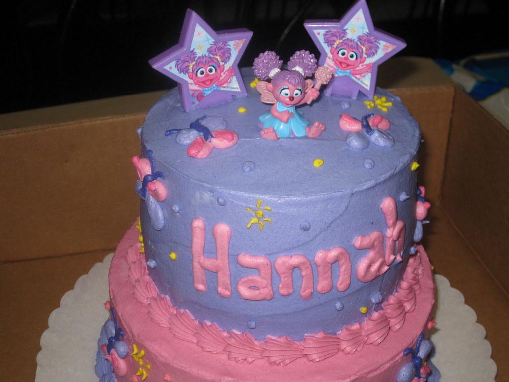 Admirable Abby Cadabby Birthday Cake Hannahs Cake Rachelle171986 Flickr Personalised Birthday Cards Veneteletsinfo