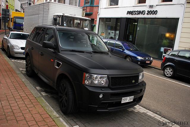 Range Rover Sport Black Matte Yannick Vanhex Flickr