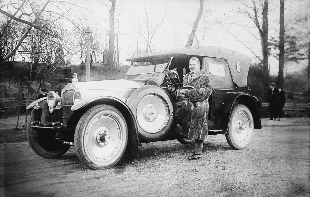 Zez Confrey Car | Composer and bandleader Zez Confrey, 1920s… | Flickr