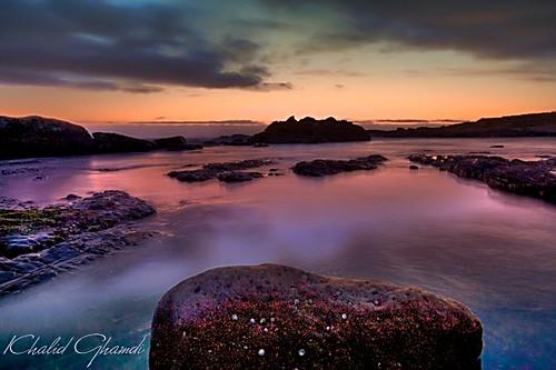 ocean california sunset seascape landscape 2009 khalid ghamdi ponitlobos