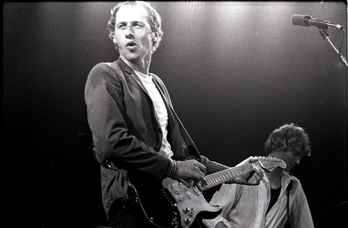 Mark Knopfler of Dire Straits with Hal Lindes, Amsterdam 1981 | by Victor Schiferli