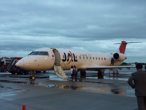 JAL/J-AIR plane | by kalleboo
