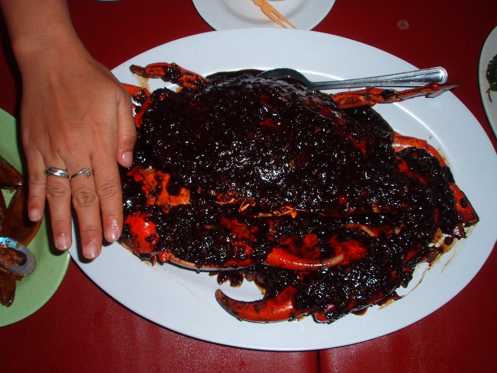 Kepiting Lada Hitam Giant Crab In Black Pepper Sauce Dahs