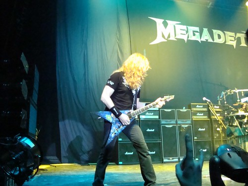 Mustaine with signature guitar | by arj03