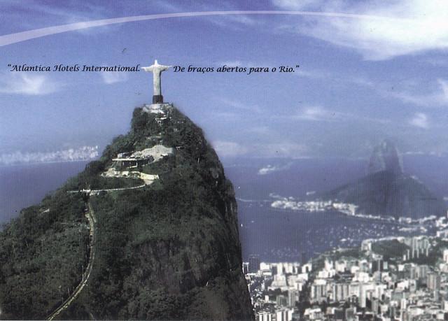 Atlantica Hotels International Ad Postcard