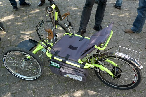 recumbent hand pedal trike | by @WorkCycles