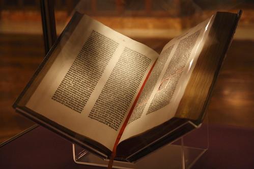 Gutenberg Bible 01   by JMWK
