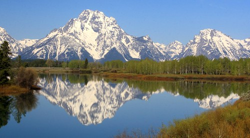 Mt. Moran from near the Oxbow Bend of the Snake River, Grand Tetons National Park | by Alaskan Dude
