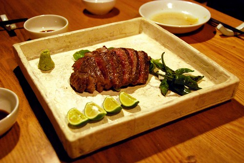 yummy kobe beef with lime | by hopemeng