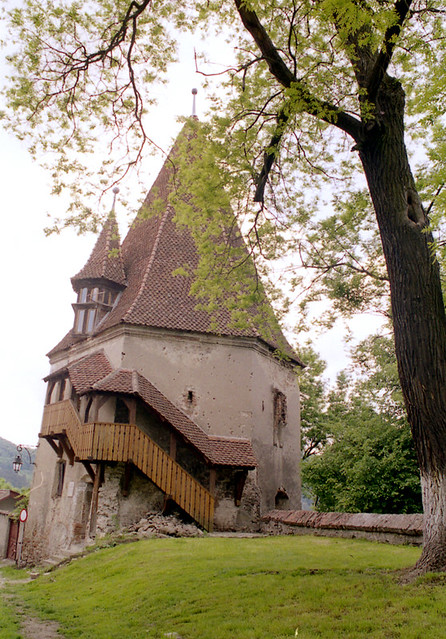 Una torre della Cittadella - An citadel tower in Sighişoara (Romania)