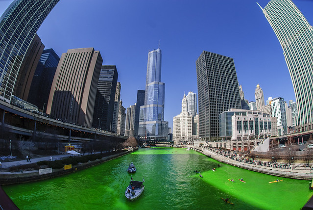The Greening of the Chicago River 2009 Edition
