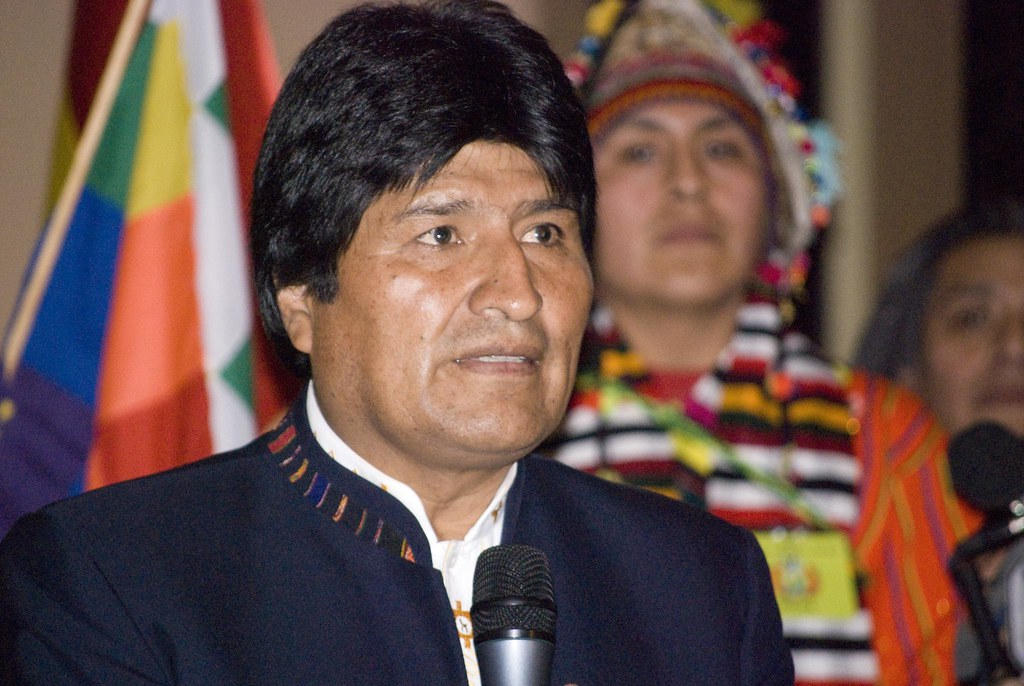 Image result for evo morales