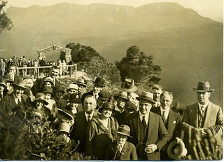 The Giant Stairway, Official Opening, 1st October 1932