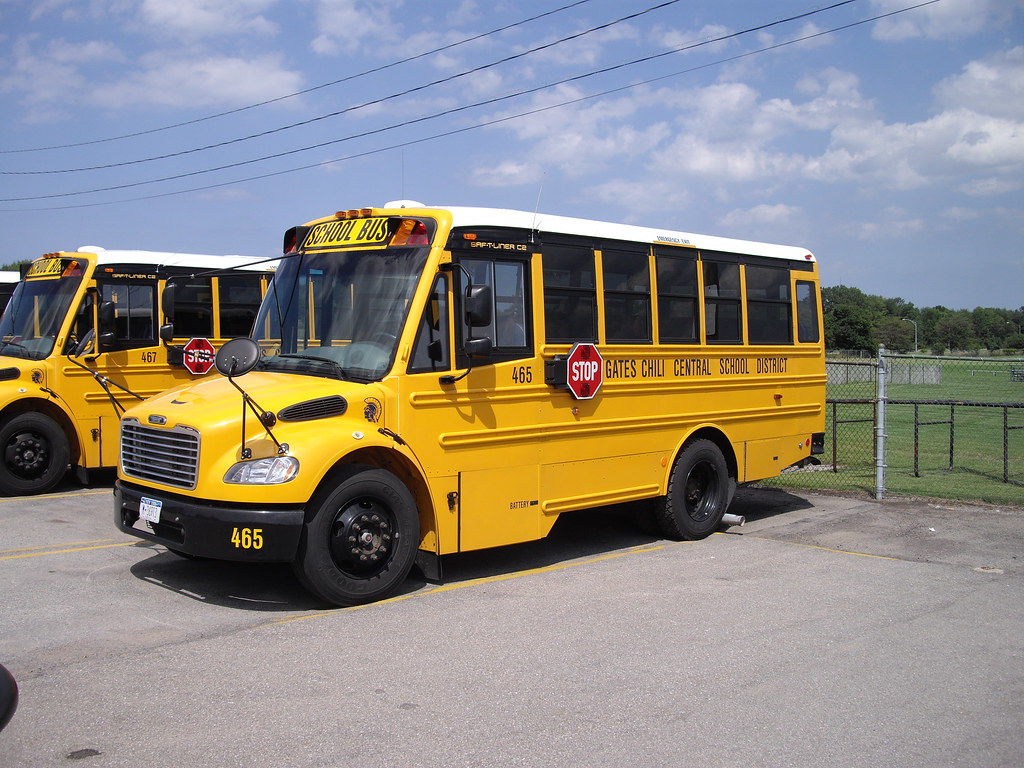 Gates Chili Central Schools Thomas C2 short school bus # 0