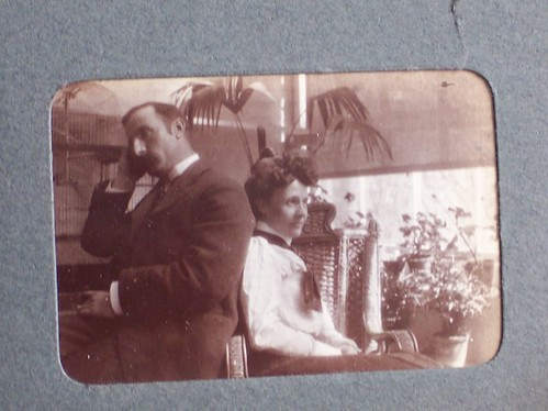 Thomas Ainscough 1865-1927 & wife??