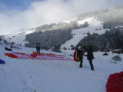 Melchboden 1 Paragliding