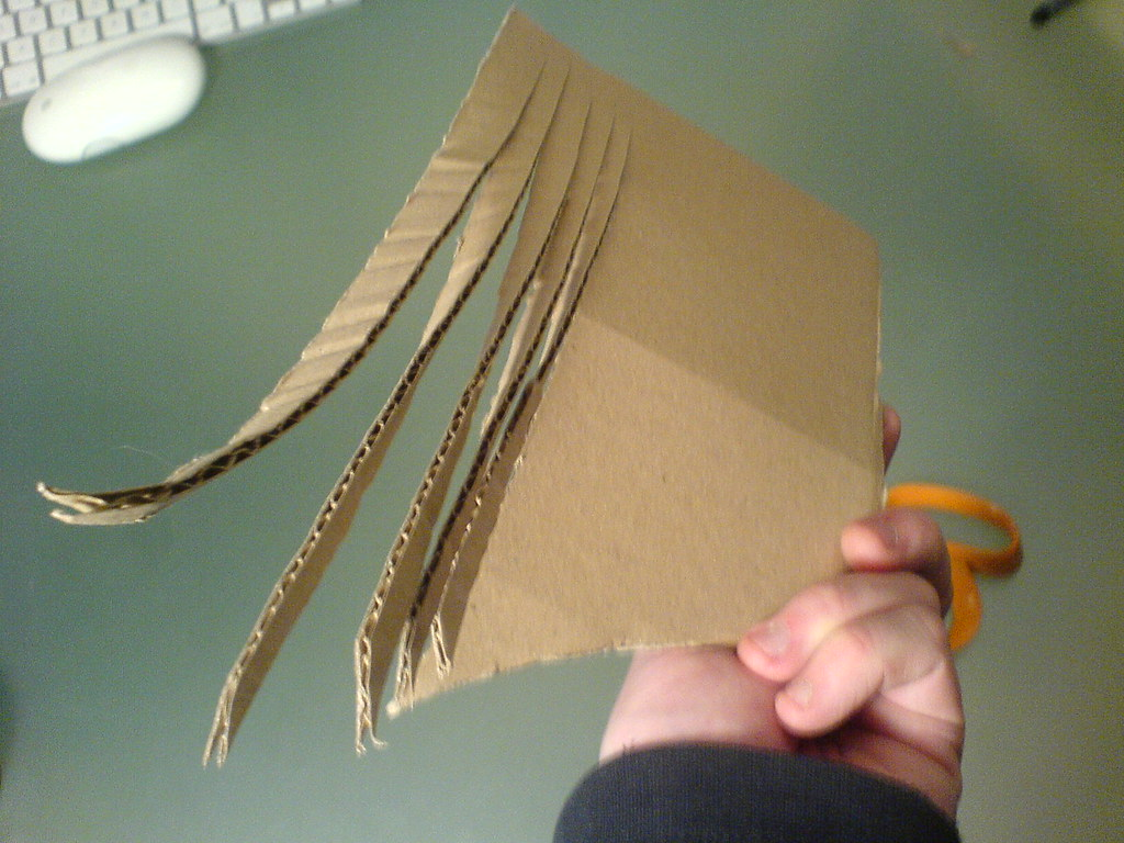 Use Remaining Cardboard For Mane Henniraof Horse Head Cons Flickr