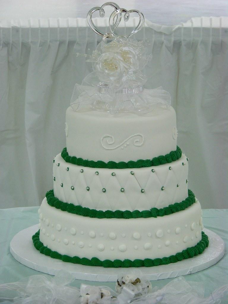 Emerald Wedding Cake