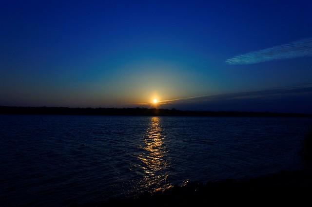 White Rock Lake Sunrise - #0610