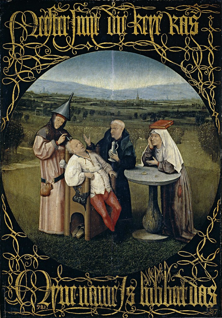 Bosch - The extraction of the stone of foolness