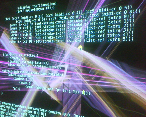 live coding (fluxus) | by angorawol
