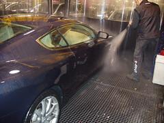 Lavado de coches a mano
