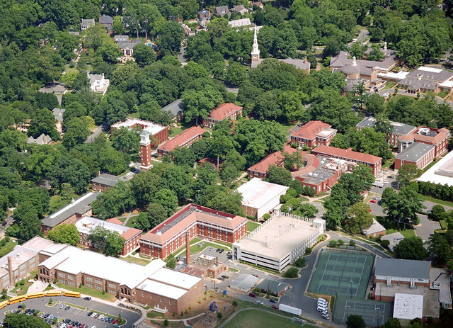 Queens University Of Charlotte >> Charlotte Aerial Photography Queens University Queens Un
