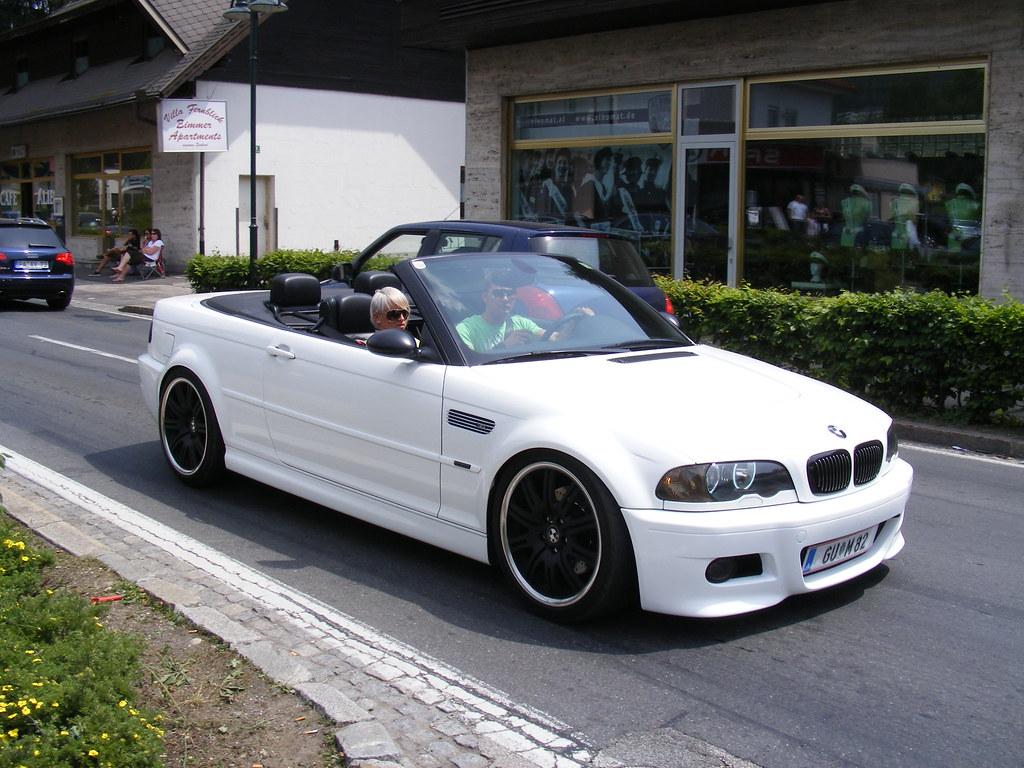 Bmw E46 M3 Convertible White What S New
