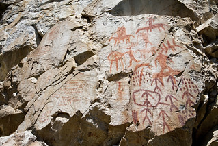 Shoshone Pictographs | by Jared Kelly
