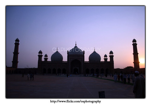 blue light sunset sky sun photography evening muslim islam clean historical omer punjab pillars lahore masjid quran arif oa badshahi sialkot namaaz minars superaplus aplusphoto badhshahi