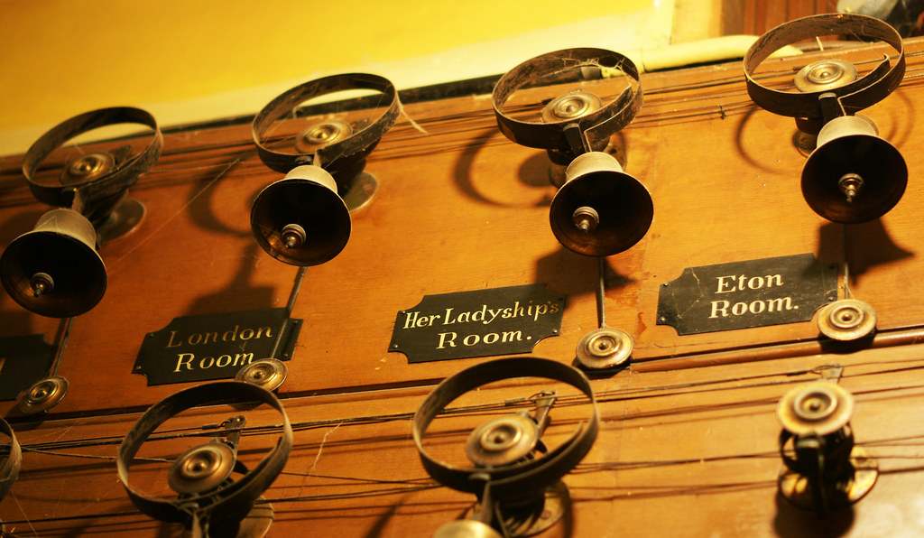 Tyntesfield servants' bells
