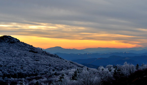 sunset mountains virginia appalachia blueridgemountains graysonhighlands