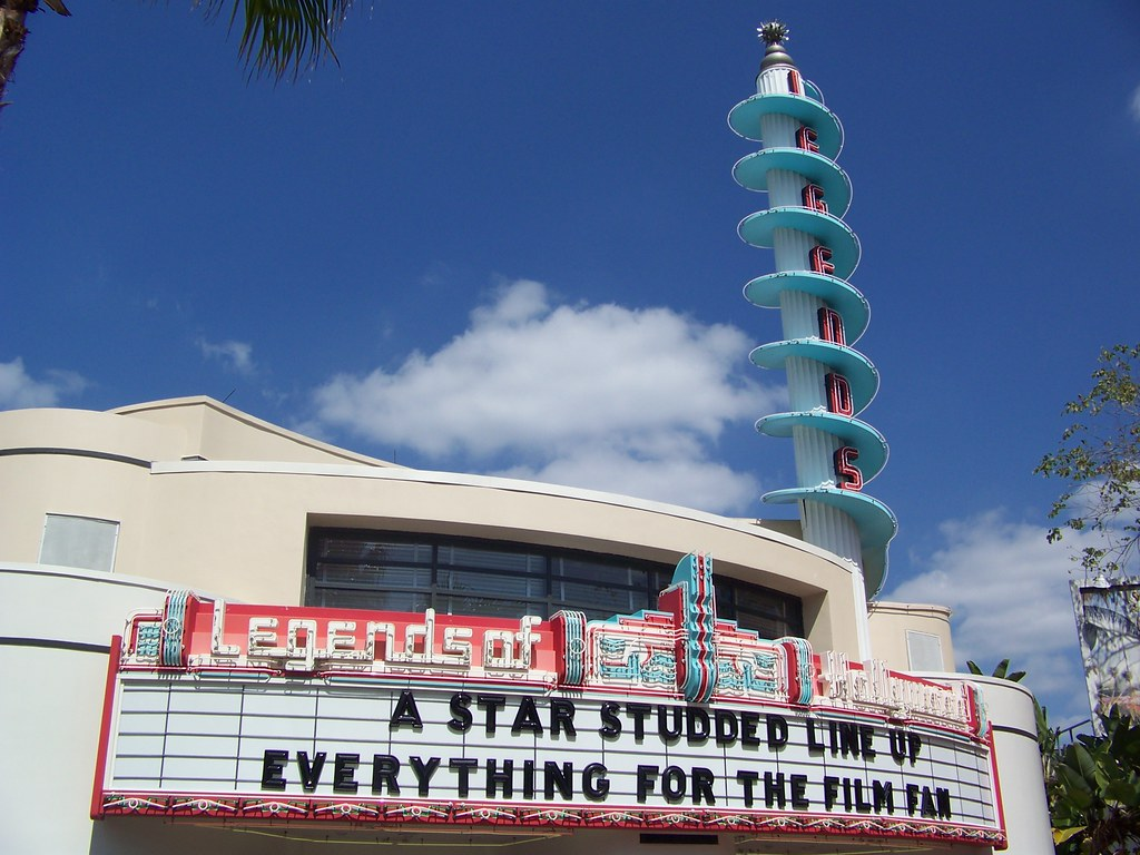 Disney's Hollywood Studios - Legends of Hollywood Marquee