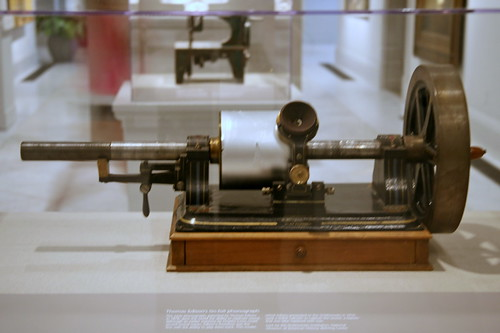 Thomas Edison's Tin-Foil Phonograph | by cliff1066™