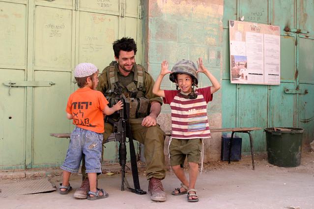Hebron Kids Israel IDF Soldier  Soldat  ישראל