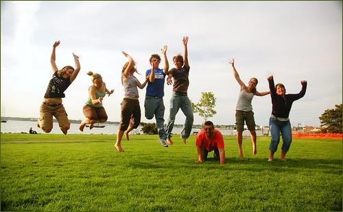 Family jump | by Evil Erin