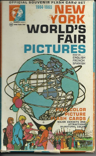 New York World's Fair Flash Cards