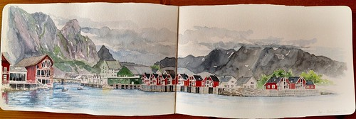 48 th Sketchcrawl - Svolvaer - Norway | by Cyrille B