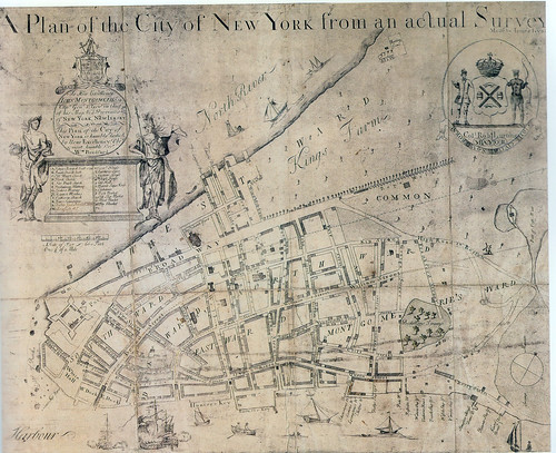 James Lyne 1728 NYPL | by NYC H2O